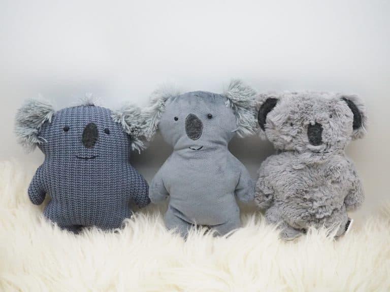 Stofftiere Koalas